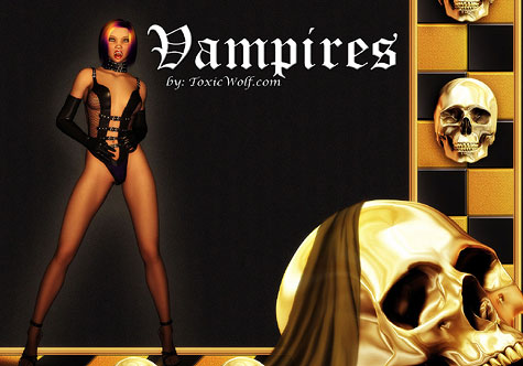 Vampires Screensaver